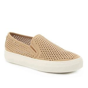 Steve Madden Gal-P Perforated Slip Ons